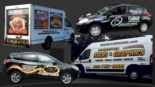 Spot Vehicle Wraps and Lettering