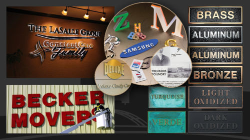 Dimensional Letters And Plaques
