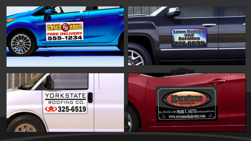 Rochester NY Signs Graphics Signs Banners Wraps Vinyl Lettering - Modern business vehicle decals
