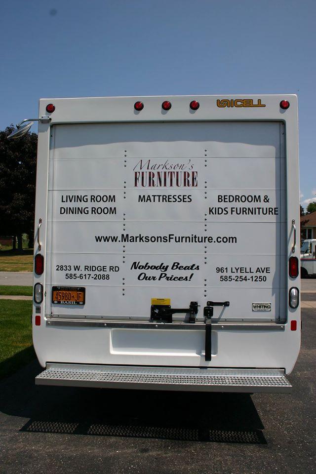 Box Trucks Spot Vehicle Graphics: Marksonu0027s Furniture.  13498146_1165721020165121_489573120179734787_o  13495619_1165720976831792_3589202868591502584_o