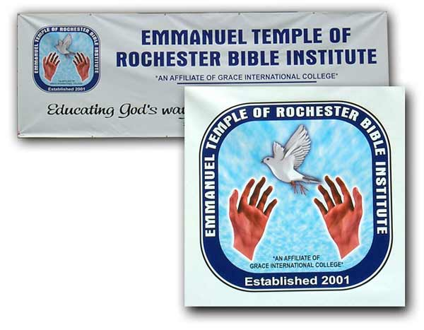 Emmanuel Rochester Signs And Graphics Rochester Ny