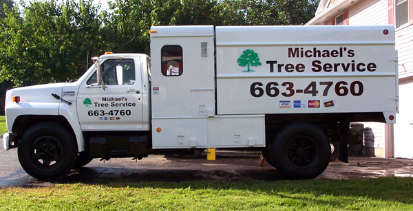 Michaels Tree Truck Rochester Signs And Graphics