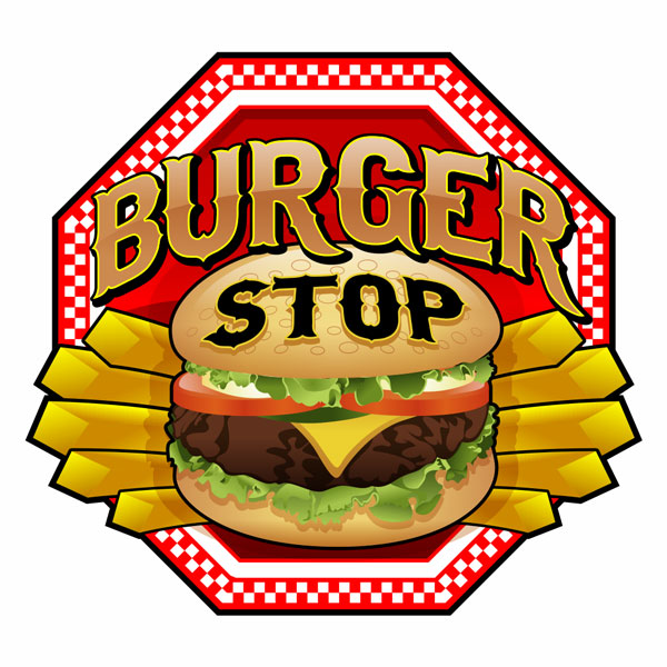 Theburgerstop Logo Rochester Signs And Graphics Rochester Ny