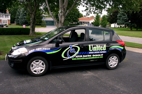 United Oyygen Vehicle 06 Rochester Signs And Graphics
