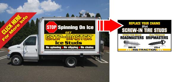Mobile Billboard Frame System Box Truck Trailer