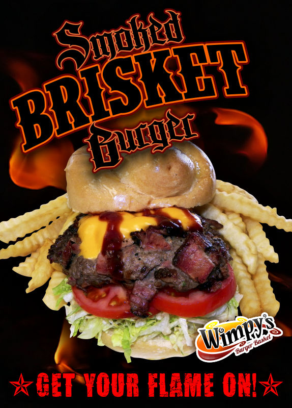 Tabletoppers Brisketburger Rochester Signs And Graphics