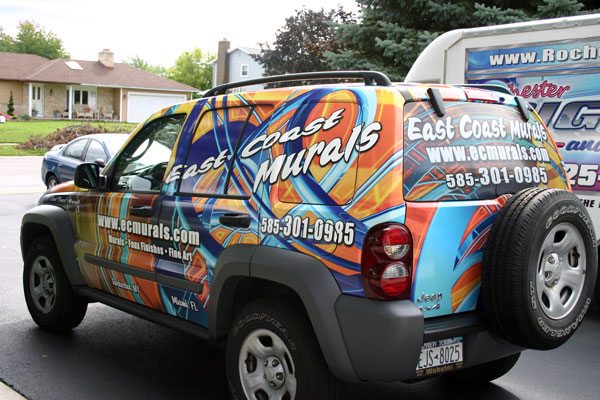 Vehicle Lettering Amp Spot Vehicle Graphics Vs Full Vehicle