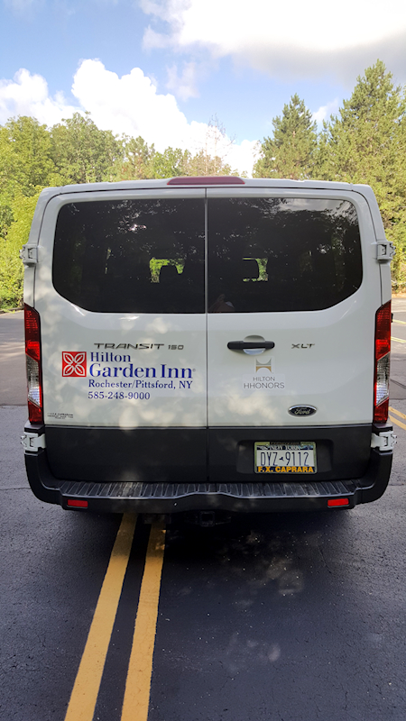 ... Hilton Garden Inn Pittsford NY Vehicle Lettering And Graphics By RSG