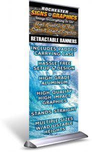 Retractable Banners Best Price In Rochester NY